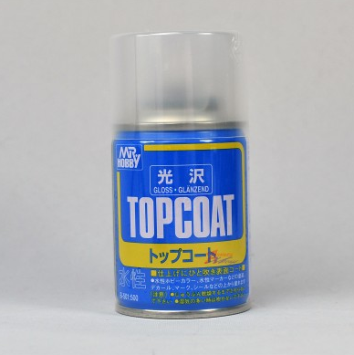 B501 Mr Topcoat (Gloss) 86ml สีเคลียร์เงา (สูตรน้ำ)