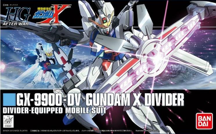 HGAW 1/144 Gundam X Divider