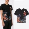 เสื้อยืด Saint Laurent-Eagle&Tiger Printed T-shirt