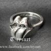 แหวนChrome Hearts TongueเกรดMirror1:1
