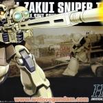 HGUC 1/144 ZAKU I SNIPPER TYPE