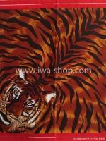 ผ้าเช็ดหน้าลายเสือ