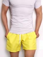 กางเกงขาสั้นชายหาด เหลือง