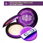 LOTREE ROSA DAVURICA TRIPLE CAKE spf32 pa++ No.23ผิวสองสี-คล้ำ 12g.แป้งอัดแข็งผสมรองพื้นเนื้อบางเบา