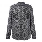 เสื้อเชิ้ตSaint Laurent Western Paisley Print Shirt S,M,L