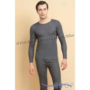 ชุดลองจอห์นชาย สีเทาเข้ม Size F , L , XL