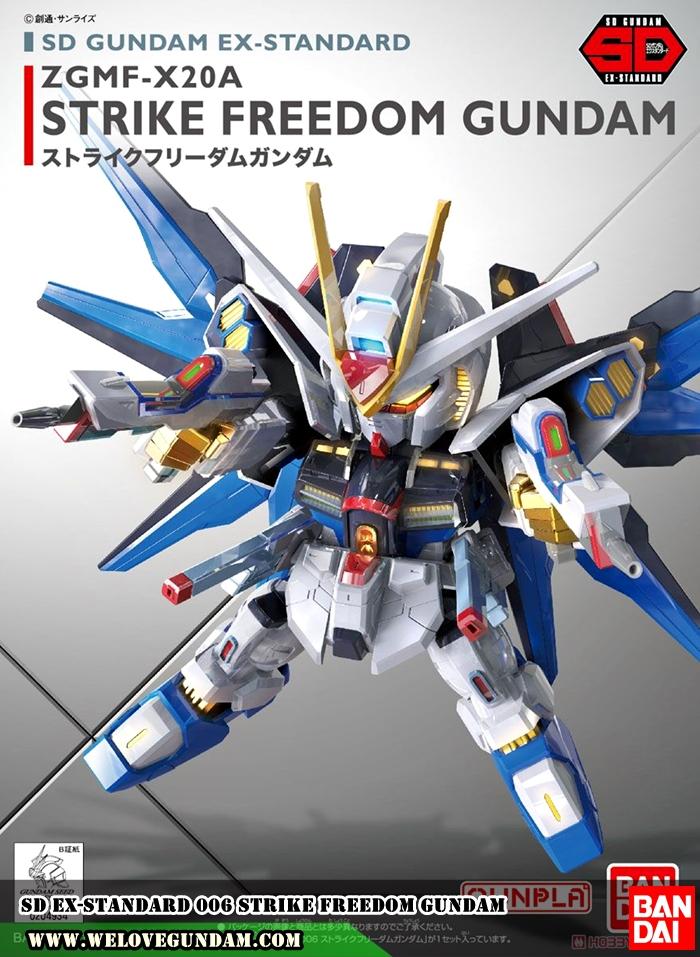 SD EX-STANDARD 006 STRIKE FREEDOM GUNDAM