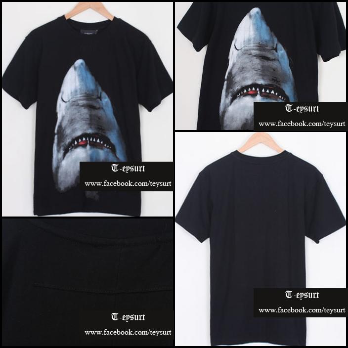 เสื้อGivenchy Shark-Print BestMirror