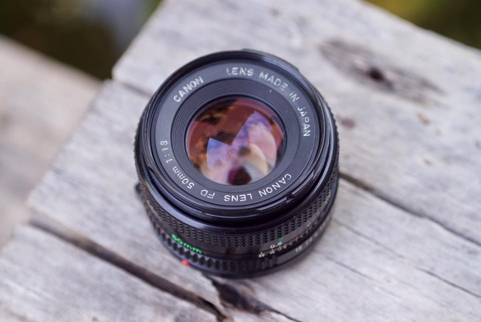 CANON LENS FD 50MM. F1.8