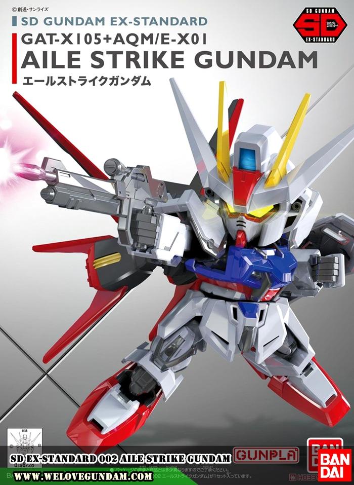 SD EX-STANDARD 002 AILE STRIKE GUNDAM
