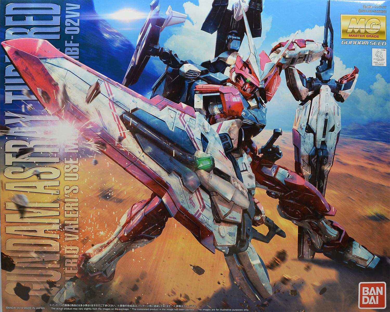 P-Bandai : MG 1/100 MBF-02VV GUNDAM ASTRAY TURN RED