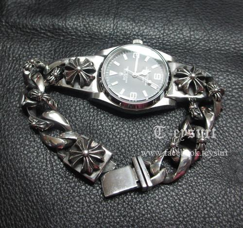 นาฟิกาRolex X Chrome Hearts (Silver 925)1:1