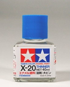 TA80030 X-20 THINNER 40ML
