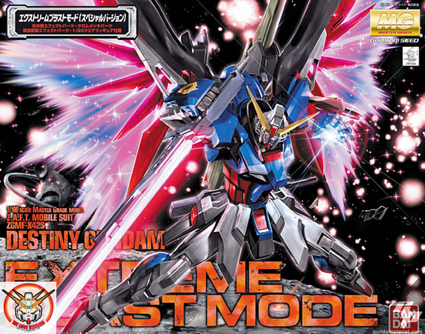 MG 1/100 DESTINY GUNDAM (EXTREME BURST MODE)
