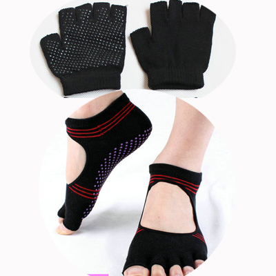 (พรีออเดอร์) ถุงมือ ถุงเท้าโยคะ กันลื่น YKSM30-35