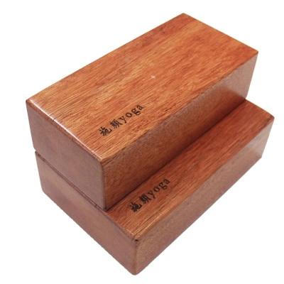 (พรีออเดอร์) บล็อคโยคะไม้ YK9008P (Box yoga)