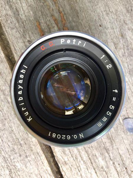 Kuribayashi C.C.Petri 55MM.F2 Modifly Canon EF Mount