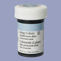 สีผสมอาหาร wilton icing color -Delphinium Blue 228