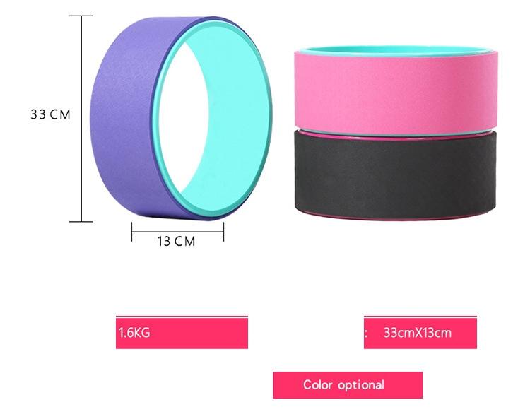 (พรีออเดอร์) Yoga Wheel วงล้อ สำหรับ โยคะ YK9020P (33*13cm)