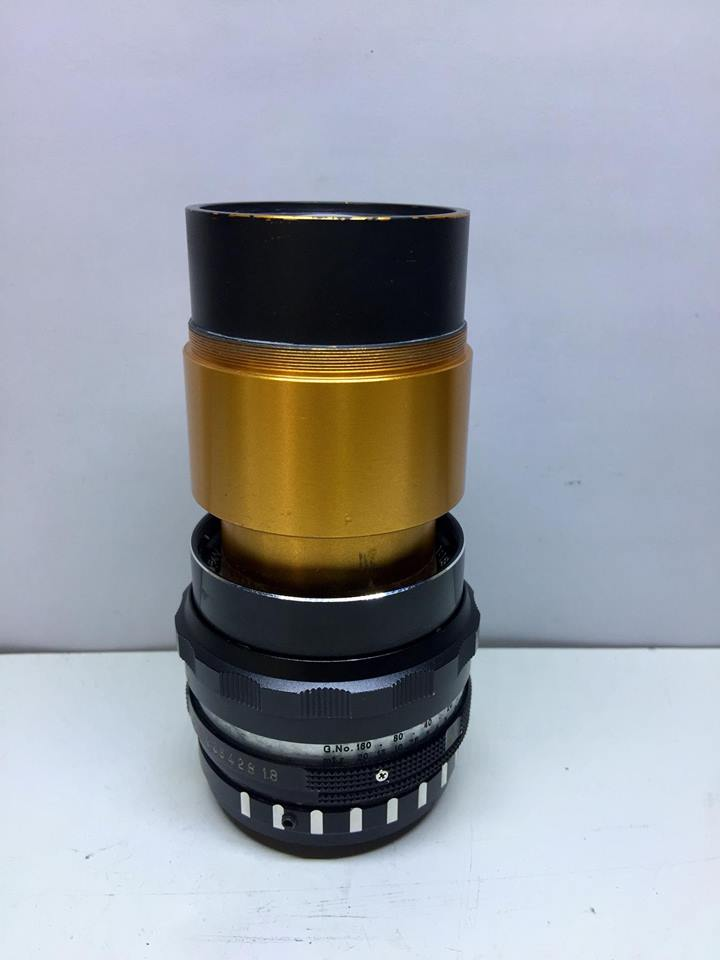 ISCO OPTIC 75MM.F2 PROJECTION LENS MODIFLY M4/3 MOUNT
