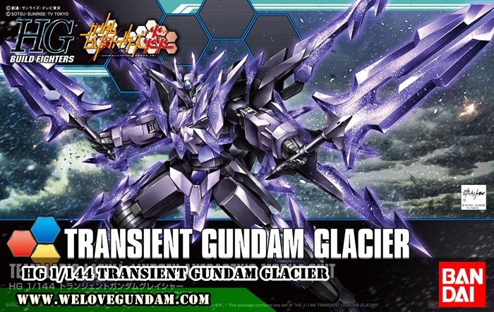 HG 1/144 TRANSIENT GUNDAM GLACIER