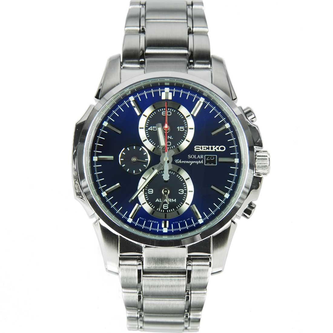 นาฬิกา Seiko Solar Chronograph Watches SSC085P1 SSC085P