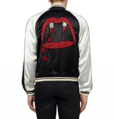 เสื้อSaint Laurent Vampire Bomber Jacket