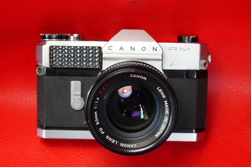 Canon Canonflex RM+Canon Lens FD 50mm.F1.4 S.S.C