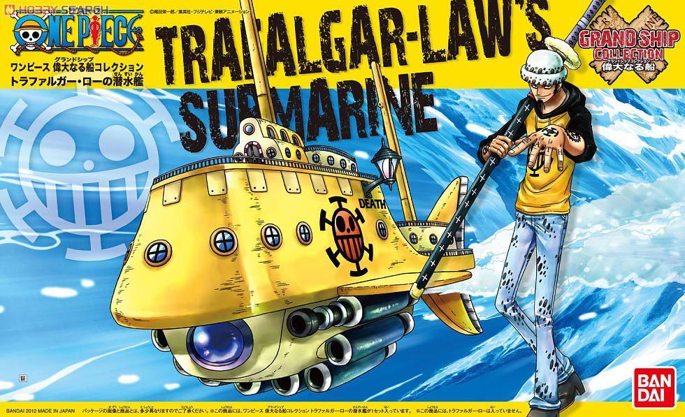 GRAND SHIP COLLECTION TRAFALGAR LAW S SUBMARINE
