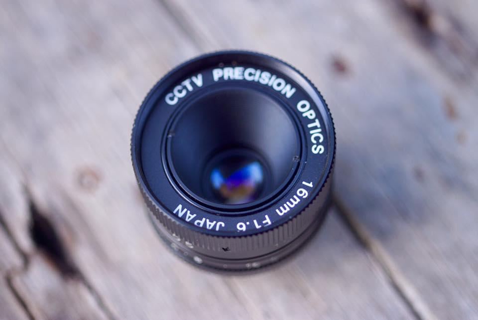 CCTV PRECISION OPTICS 16 MM. F1.6 C MOUNT