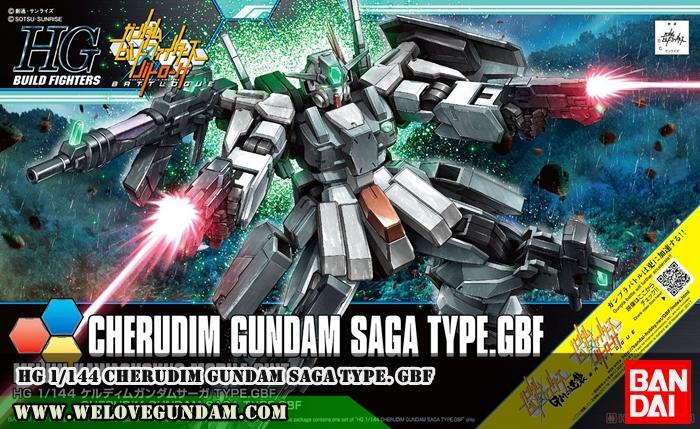 HGBF 1/144 CHERUDIM GUNDAM SAGA TYPE. GBF