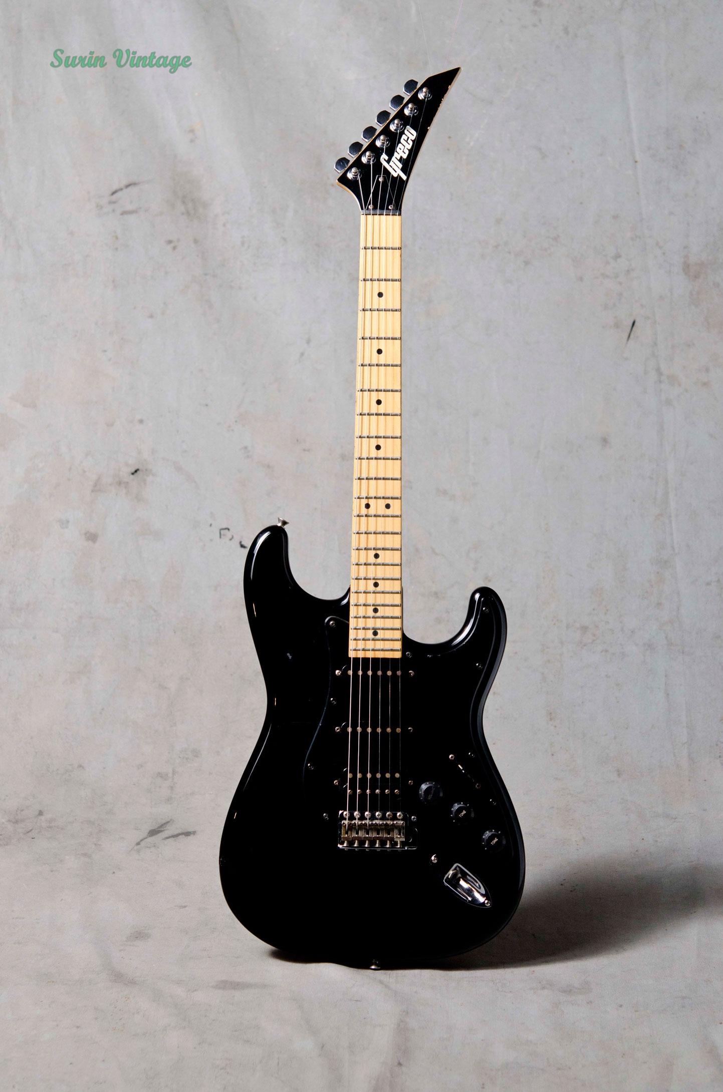 GRECO Stratocaster กีต้าร์ไฟฟ้ามือสอง