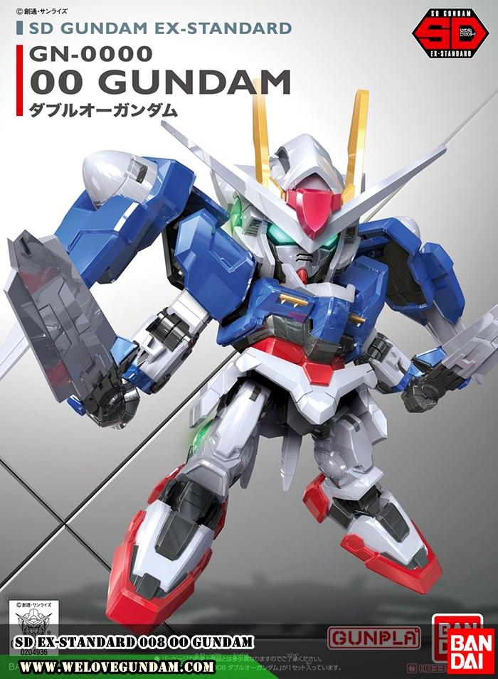 SD EX-STANDARD 008 OO GUNDAM