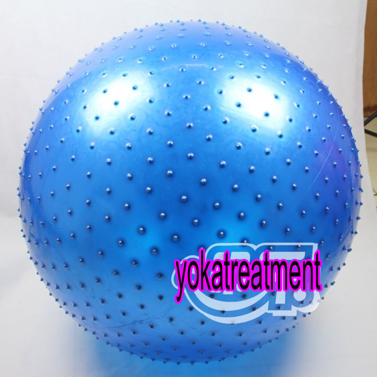(พร้อมส่ง) บอลโยคะ แบบหนาม ขนาด 75CM