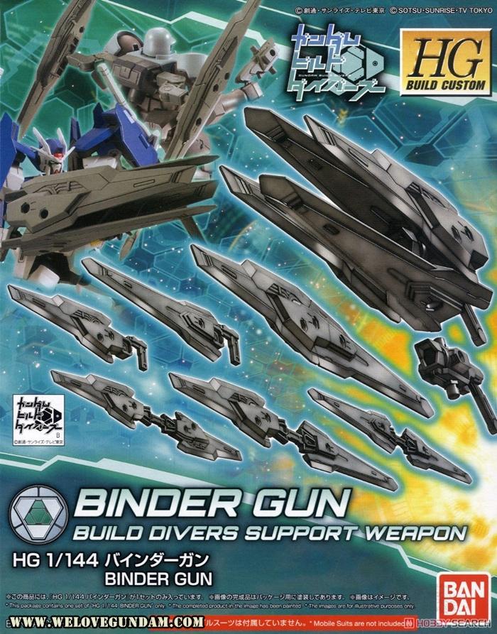 HGBC 1/144 BINDER GUN