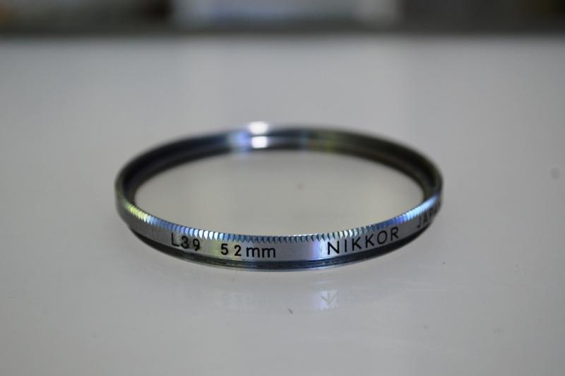 NIKKOR L39 52MM.(UV FILTER)