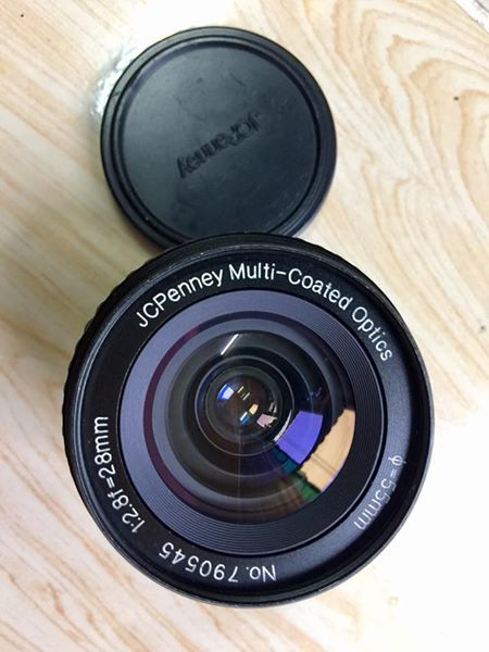 JCPeny MC Optics 28MM.F2.8 PK MOUNT