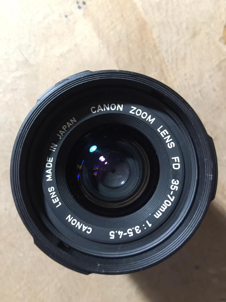 Canon Zoom Lens FD 35-70 mm. F3.5-4.5