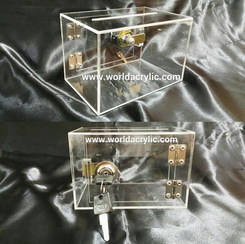 กล่องทิป/กล่องบริจาคเล็ก