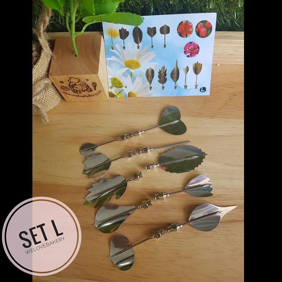 ชุดหัวเข็ม ทำ Jelly 3D เซท L (10 หัว พร้อมเข็ม)