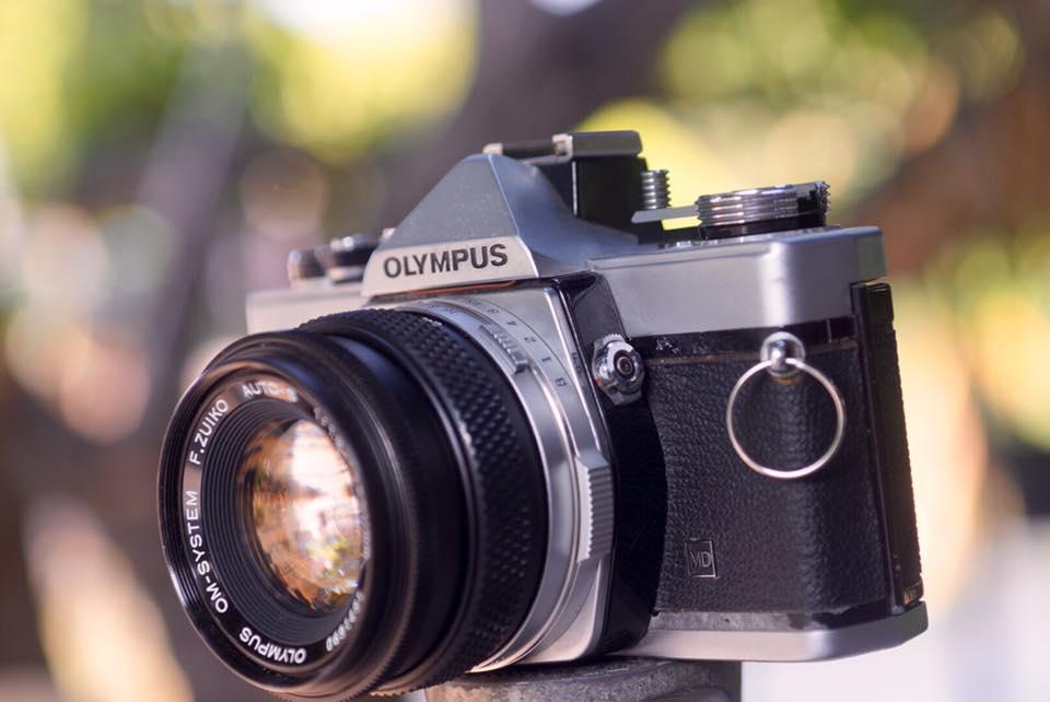 OLYMPUS OM-1 MD OLYMPUS OM-SYSTEM F. ZUIKO AUTO-S 50MM. F1.8