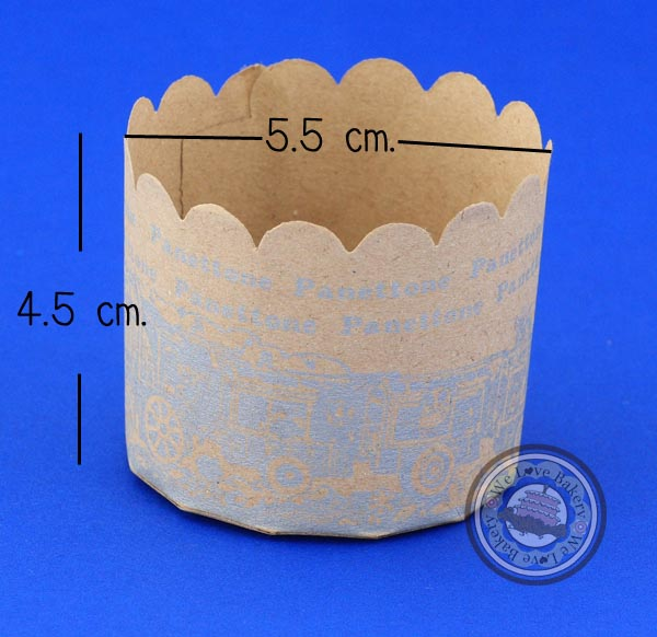 กระทงกระดาษ มัฟฟินคัพ PT4 (50ใบ)