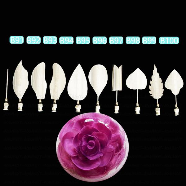 ชุดหัวเข็ม ทำ Jelly 3D เซท 8 (10 หัว)