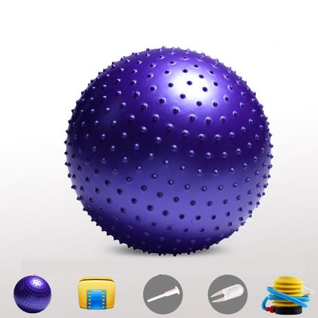 (พร้อมส่ง) บอลโยคะ แบบหนาม ขนาด 85CM