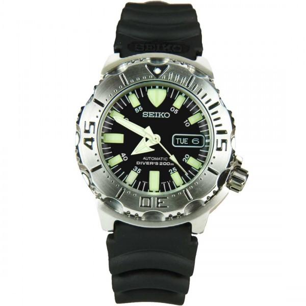 Seiko Black Monster Classic Automatic Scuba Diver Men's Watch SKX779K3