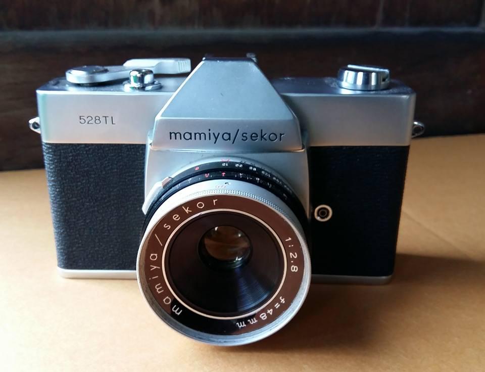 MAMIYA/SEKOR 528TL MAMIYA/SEKOR 48MM.F2.8