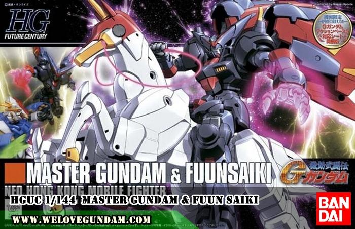 HGFC 1/144 MASTER GUNDAM & FUUN SAIKI