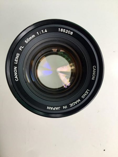 CANON LENS FL 50MM.F1.4 FL MOUNT