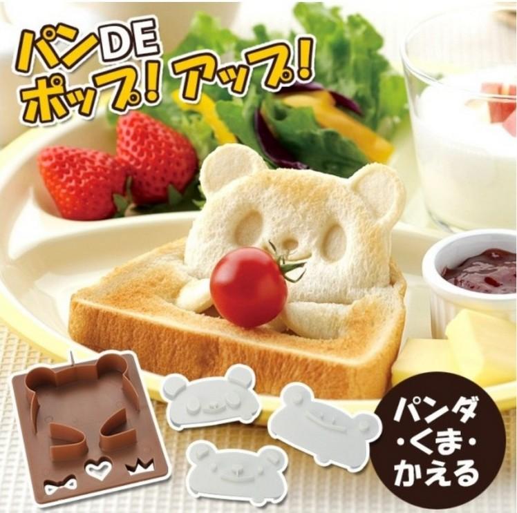พิมพ์กดขนมปัง หมี กบ นั่งได้ น่ารักมากๆจ้า