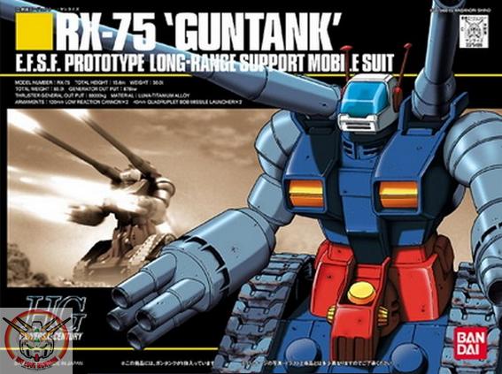 HGUC 1/144 RX-75 GUNTANK